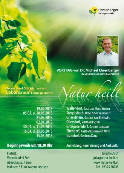 Vorträge Natur heilt Burgenland