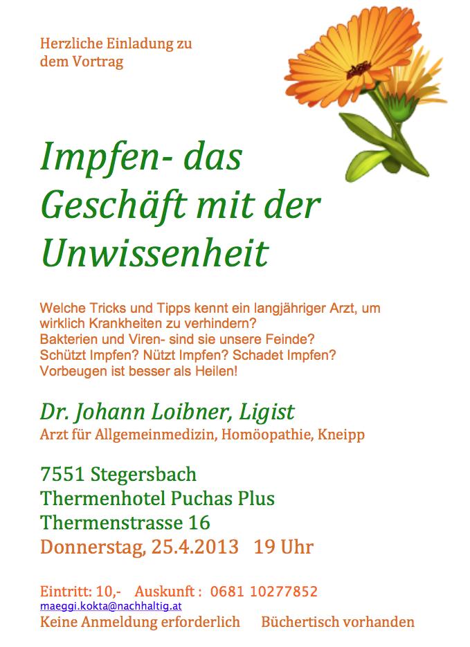 vortrag dr loibner stegersbach